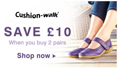 Save £10 on Cushionwalk
