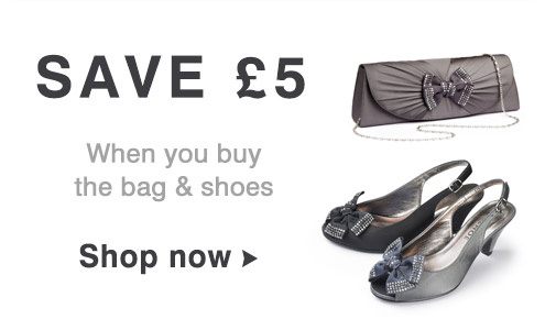Save £5 on bags & shoes