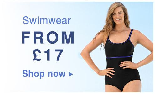 Swimwear from £17