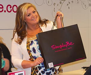 Simply Be Liverpool - Gemma Collins