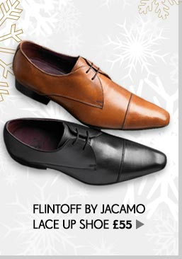 Flintoff by Jacamo Lace Up Shoe
