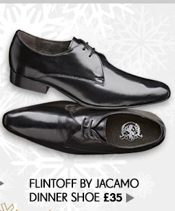 Flintoff by Jacamo Dinner Shoe