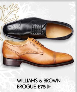 Williams & Brown Brogue