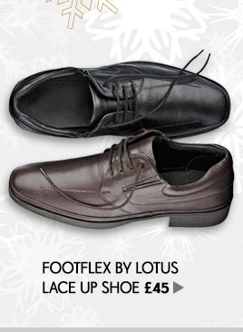 Footflex by Lotus Lace Up Shoe
