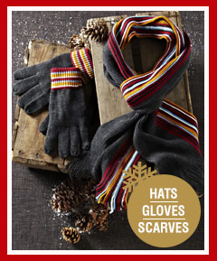 Hats Gloves Scarves >