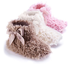 Fluffy Bootie Slipper