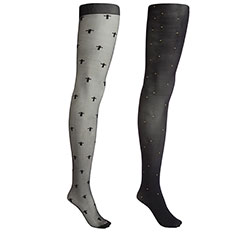 Fashion Tights - Pack of 2