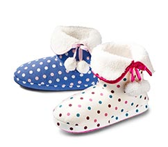 Spotty Bootie Slipper