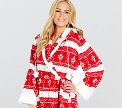 Cuddle Fleece Gown