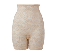 High Waist Lace Thigh Shaper