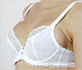 Wires dig into the breast - Try a bigger cup size