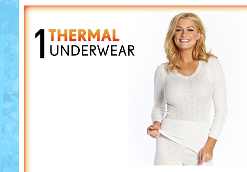 Shop Thermal Underwear >
