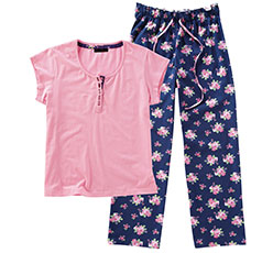 Joe Browns Floral Print Pyjama Set