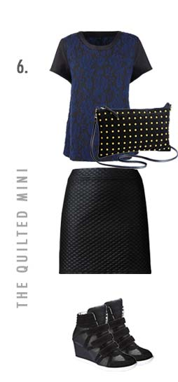 the quilted mini