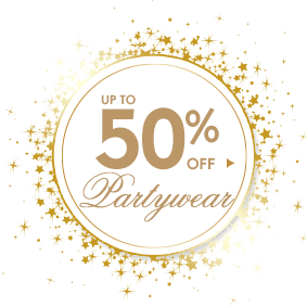 Up to 50% off Partywear