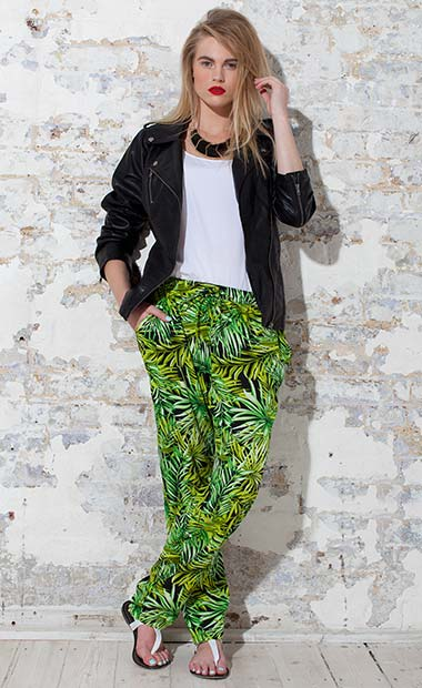 The Jungle Print Trousers
