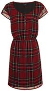 Tartan Print Dress
