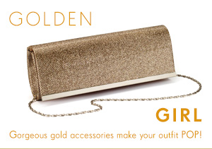 Golden Girl - Shop Bag >