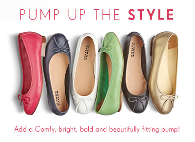 Pump up the style - Shop Shoes >