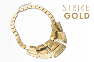 Shop Gold Necklace >