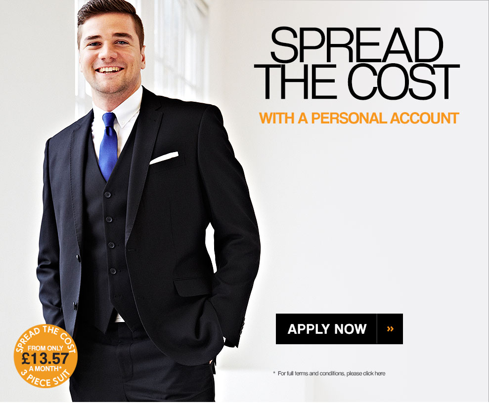 Spread the cost with a personal account. Apply today >