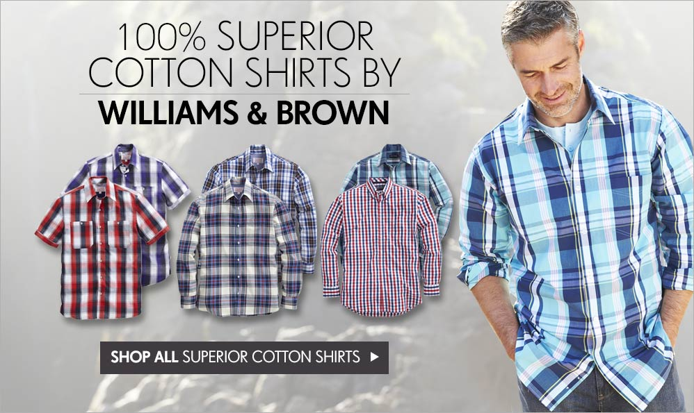 100% Superior Cotton Shirts