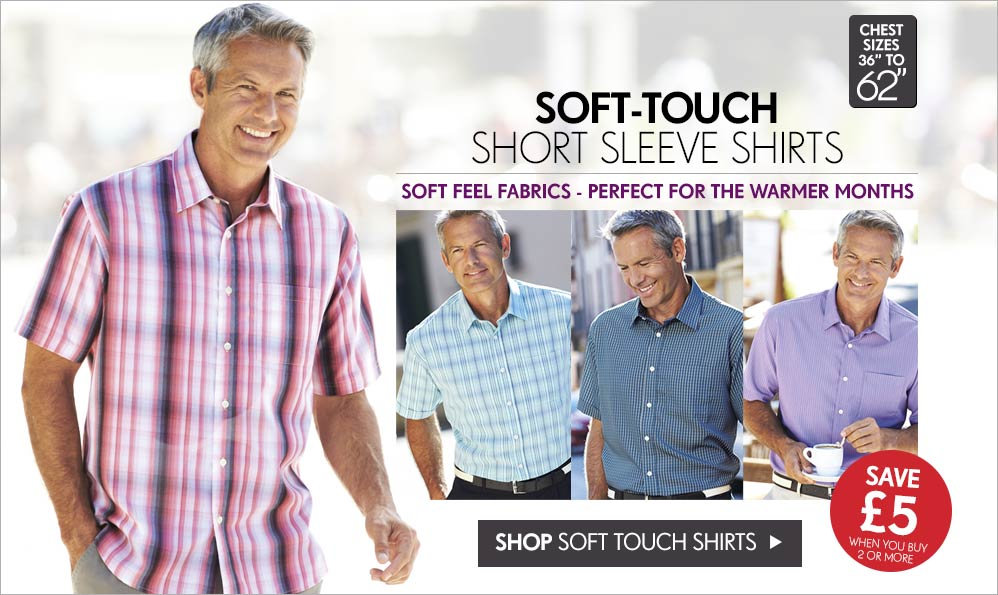 Soft-Touch Short Sleeve Shirt