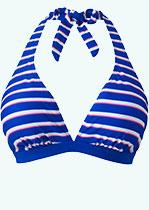 Blue Stripe Bikini