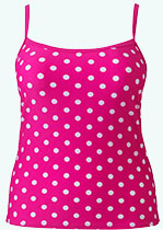 Pink Dotted Tankini