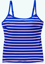 Blue Stripe Tankini