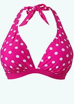 Pink Dotted Bikini