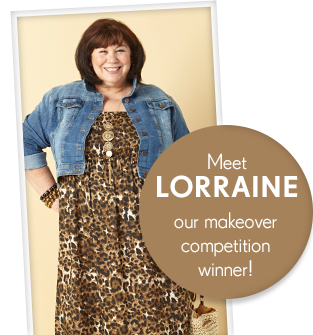 Meet Lorraine! - Our makeover competition winner!
