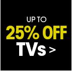 20% Off TVs