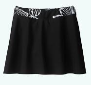Black Bikini Skirt
