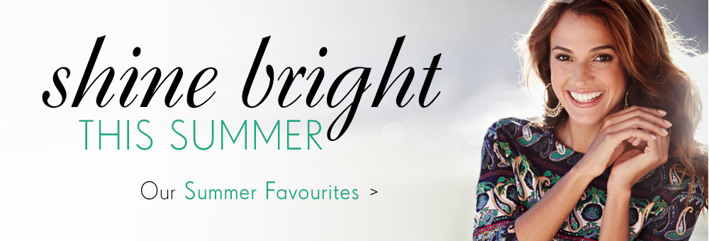 Shine Bright - Our Spring Favourites >