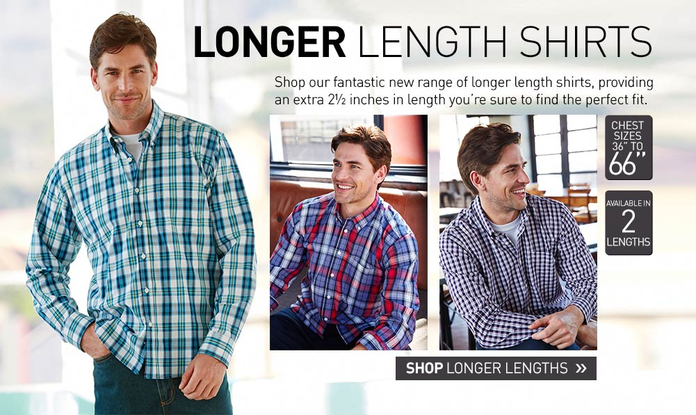 Longer Length Shirts