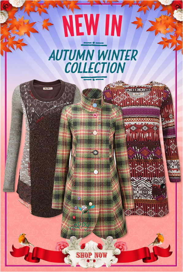 New In - Autumn Winter Collection