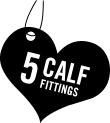 Available in 5 Calf Fittings