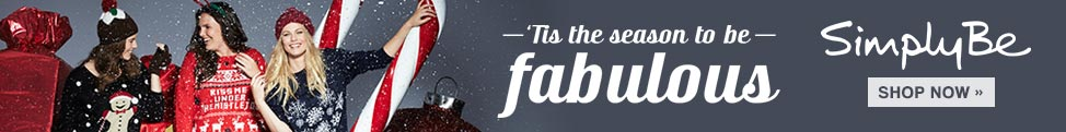 Tis the Season to be Fabulous - Simply Be - Shop Now