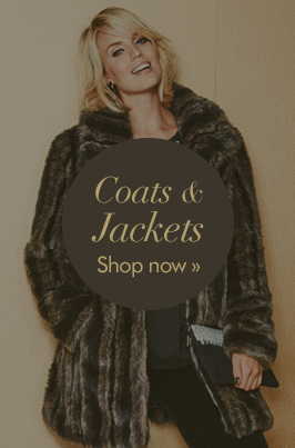 Coats & Jackets - Shop now >