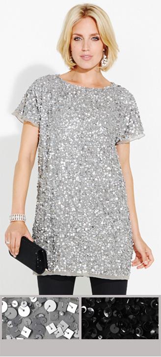 Shimmer in sequins >