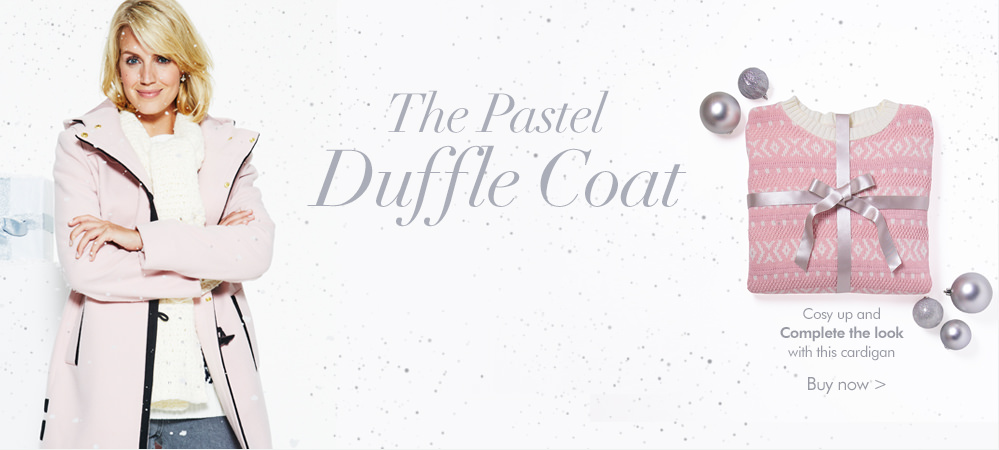 The Pastel duffle coat