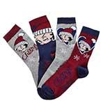 Betty Boop 4 Pack Socks Gift Set