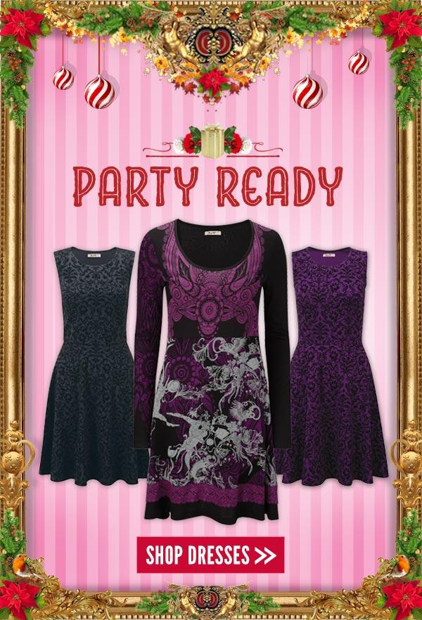 Party Ready - Shop Dresses
