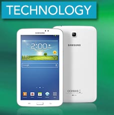 Technology - Samsung tablet