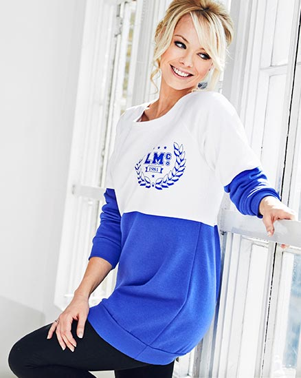 Slouch Sweat Top