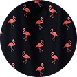 Flamingo swimwear pattern