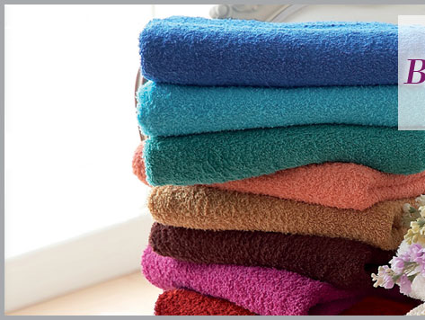Luxury 5-piece towel bale