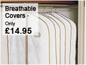 Breathable clothes covers