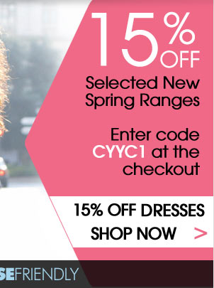 15% Off Dresses